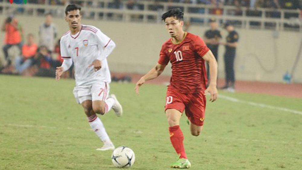 VIDEO: Màn trình diễn của Công Phượng ở trận Việt Nam 1-0 UAE